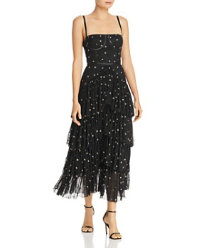 Donna Mizani - Pierre Embroidered Tulle Gown