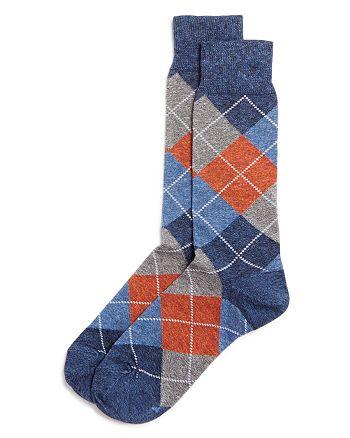 The Men's Store at Bloomingdale's - Genova Argyle Socks - 100% Exclusive