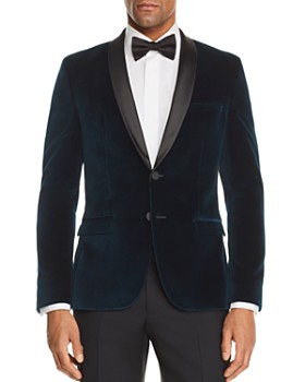 HUGO - Arti Velvet Slim Fit Tuxedo Jacket - 100% Exclusive