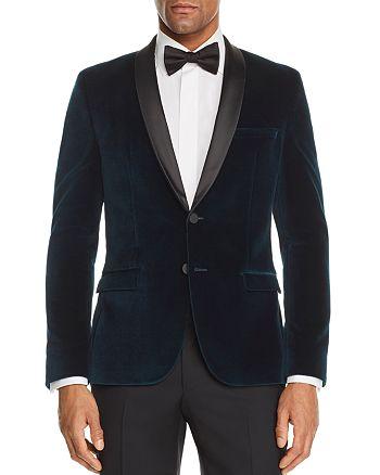 HUGO - Arti Velvet Slim Fit Tuxedo Jacket - 100% Exclusive