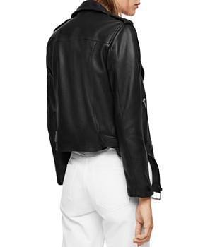 d7bbbac193eb ALLSAINTS - Balfern Leather Biker Jacket ALLSAINTS - Balfern Leather Biker  Jacket