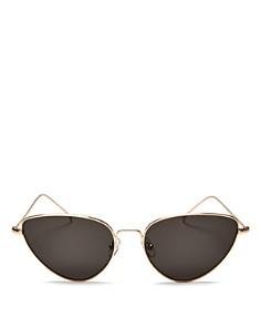 Illesteva - Women's Rebecca Cat Eye Sunglasses, 56mm