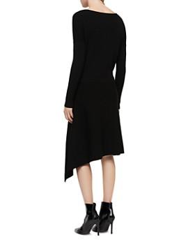 ALLSAINTS - Suke Asymmetric Rib-Knit Dress