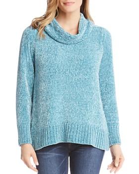 Karen Kane - Chenille Cowl Neck Sweater