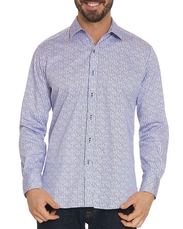 Robert Graham - Kirk Grid-Print Classic Fit Shirt