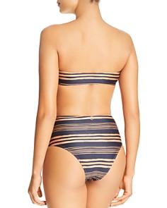 ViX - Isabela Basic Bandeau Bikini Top & Isabela Hot Pant Bikini Bottom