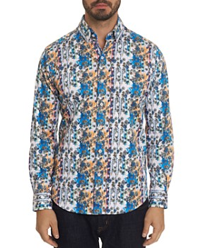Robert Graham - Gaspar Floral-Print Classic Fit Shirt