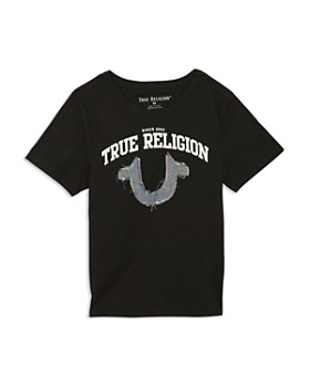 dac35aa80391 True Religion - Boys  Logo Appliqué Tee - Little Kid