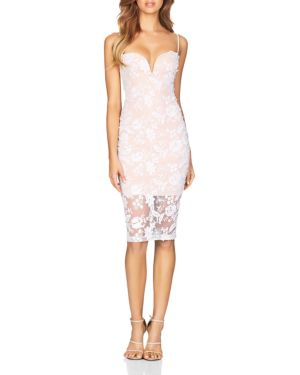 NOOKIE Lucia Lace Dress in White