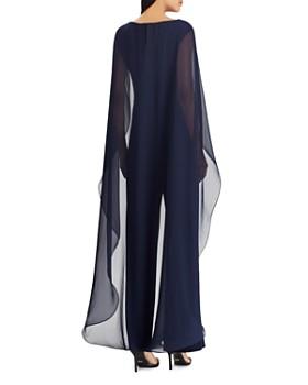 Ralph Lauren - Cape-Overlay Jumpsuit