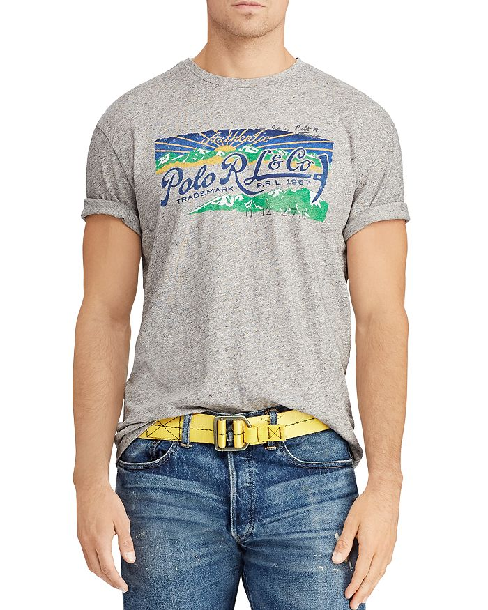 Polo Ralph Lauren - Great Outdoors Logo Graphic Classic Fit Tee