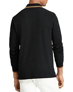 Polo Ralph Lauren - Mesh Long-Sleeve Custom Slim Fit Polo Shirt
