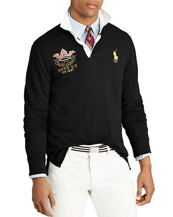 Slim Rugby Polo Custom ShirtBloomingdale's Lauren Fit Ralph 8PXNnOkw0