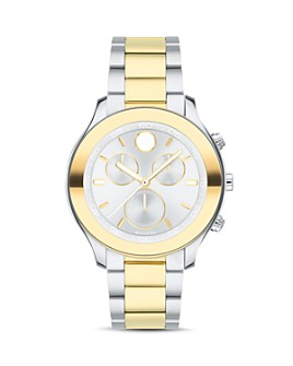 Movado - Sport Two-Tone Yellow Gold Chronograph, 39mm