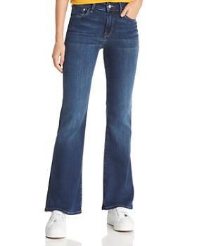 Mavi - Sydney Flare Jeans in Dark Supersoft