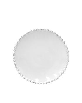 Costa Nova - White Pearl Bread Plate