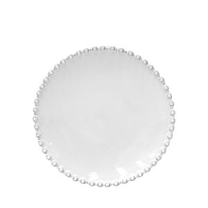 Costa Nova White Pearl Bread Plate