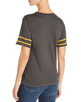 Michelle by Comune - Dryden Stripe-Sleeve Tee