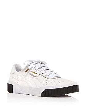 PUMA - Women's Cali Low Top Leather Sneakers