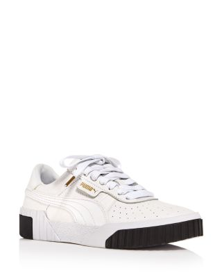 Women's Cali Low Top Leather Sneakers by Puma
