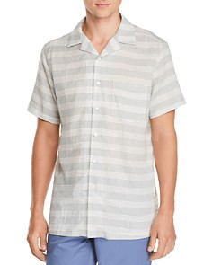 Onia - Vacation Short-Sleeve Striped Classic Fit Shirt