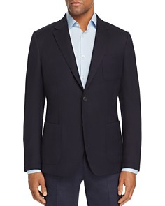 Z Zegna - TechMerino Wash & Go Textured Solid Slim Fit Sport Coat