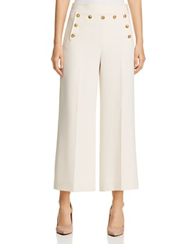 Tory Burch - Cropped Sailor Pants