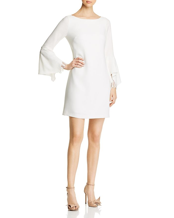 Elie Tahari - Dori Flutter Sleeve Dress