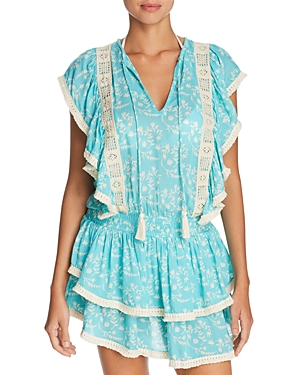 Coolchange Quinn Ruffle Tunic Swim Cover-Up