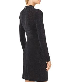 MICHAEL Michael Kors - Metallic Stretch Twist-Front Dress