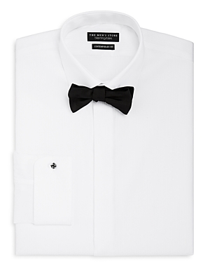 The Men\\\'s Store at Bloomingdale\\\'s Regular Fit Tuxedo Shirt with Removable Stud-Men
