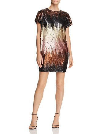 Aidan by Aidan Mattox - Ombré Sequin Dress