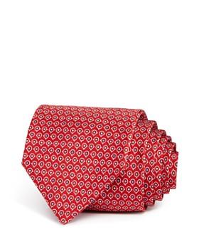 Salvatore Ferragamo - Gancini Dots Silk Classic Tie