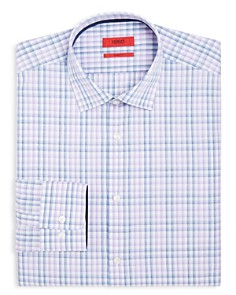 HUGO - Bold Checked Regular Fit Dress Shirt
