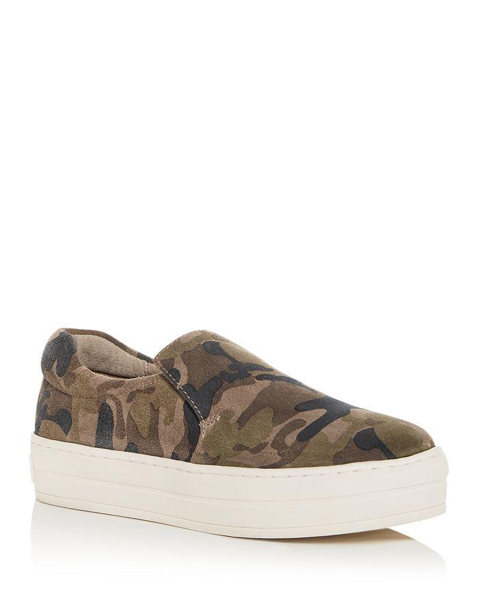 e1eb278970e J Slides - Women s Harry Slip-On Platform Sneakers