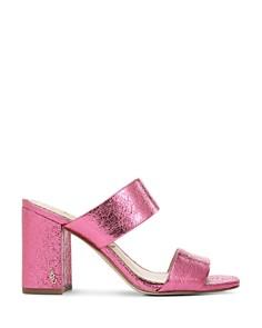 Sam Edelman - Women's Delaney Block Heel Sandals