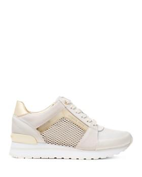 MICHAEL Michael Kors - Women's Billie Mixed Media Lace-Up Sneakers