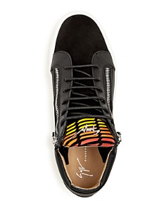Giuseppe Zanotti - Men's Leather Mid-Top Sneakers