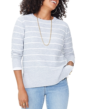 Nydj CREWNECK STRIPE SWEATER