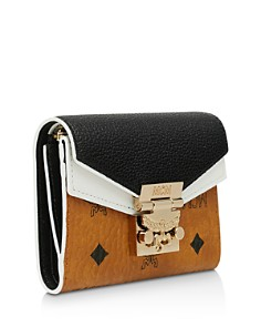 MCM - Patricia Leather Block Small 3-Fold Wallet