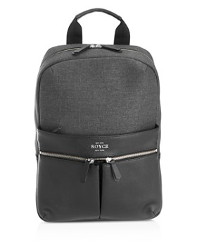 ROYCE New York - Powered Up Tech Charging Backpack