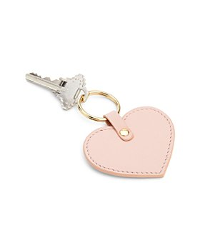 ROYCE New York - Leather Heart Key Fob