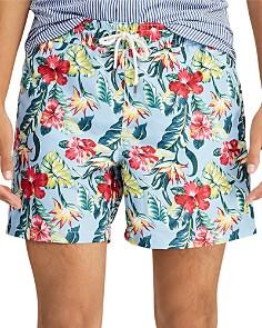 Polo Ralph Lauren - Traveler Floral-Print Swim Shorts