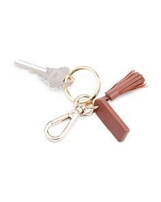 ROYCE New York - Mini Leather Tassel Key Fob