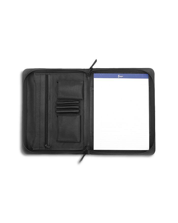 ROYCE New York - Luxury Leather Portfolio & iPad Tablet Organizer