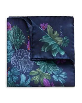 Eton - Exploded-Floral Pocket Square
