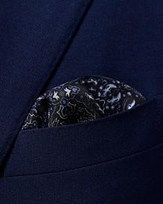 Eton - Ornate Medallion Pocket Square