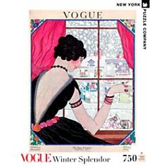 New York Puzzle Company - Winter Splendor 750-Piece Puzzle