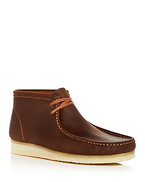 Clarks Men\\\'s Wallabee Leather Chukka Boots