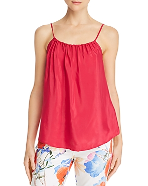 7 FOR ALL MANKIND   7 For All Mankind Shirred Camisole Top   Goxip